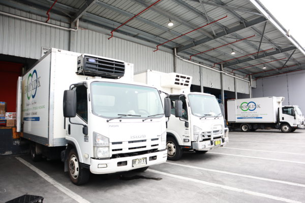 FoodByUs Supplier, FoodLink has over 50 trucks delivering wholesale food supplies to food venues all around the Greater Sydney Region